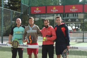 Javier Moreno - Marcos del Pilar ganan 6-3 ; 6-2 a Ignacio Rodriguez - Gorka Fernandez