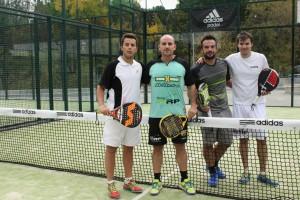 Javier Moreno y Marcos del Pilar ganan 6-2;6-0 a Sergio Gomez y Adrian Palomero