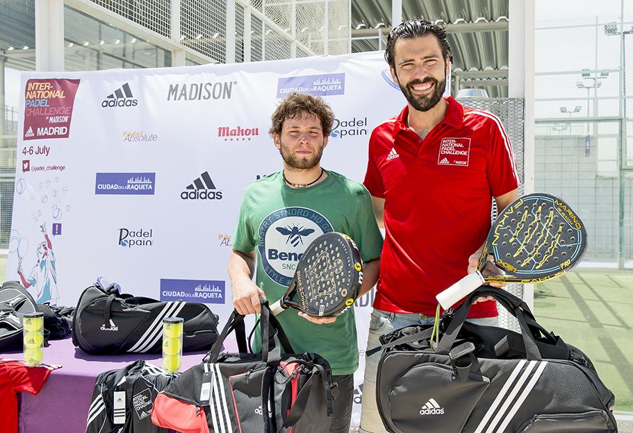 (Español) Marino Pérez y Gerard Francino ganan el adidas Madrid Open Image
