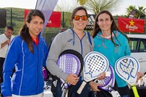 Campeonas Fem A Maria MAdrid y MAmen Aranda