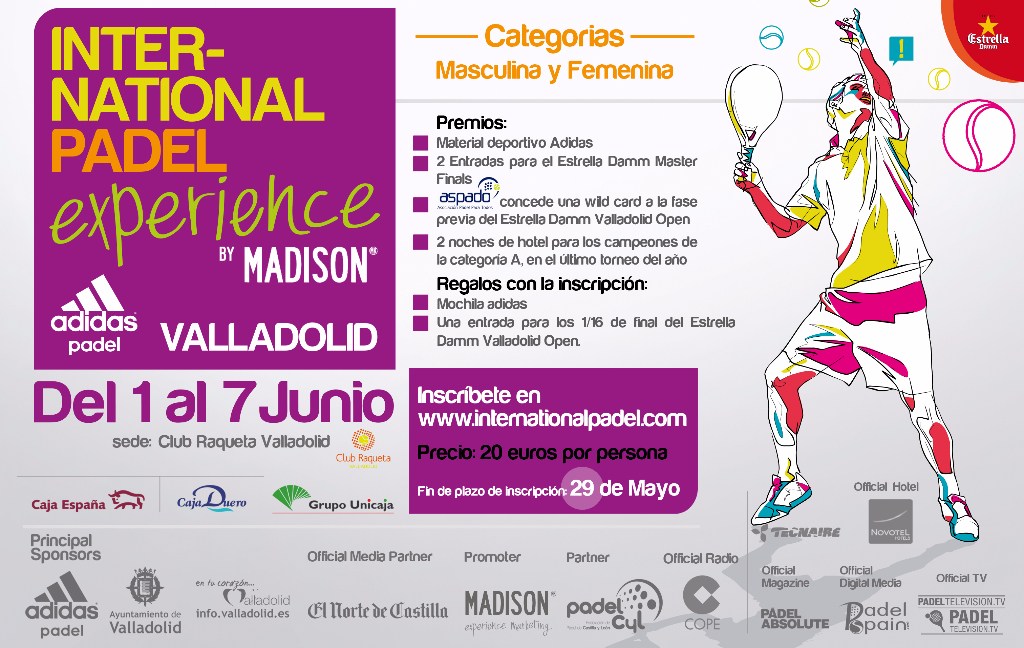 The adidas Valladolid Open enrollment period extended Image