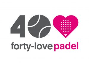 logo fourty padel
